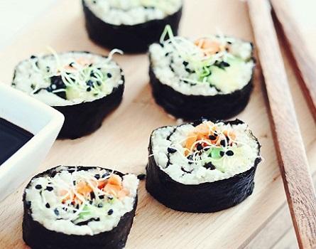 Raw Vegan Sushi Rolls recipe